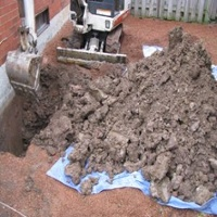 Outside Basement Leak Repairs
