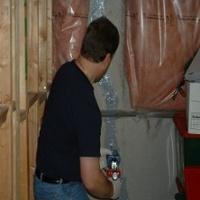 Inside And Outside Basement Leak Repairs - AquaGuard Injection